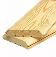 Имитация бруса из лиственницы 20x140мм 2-4м